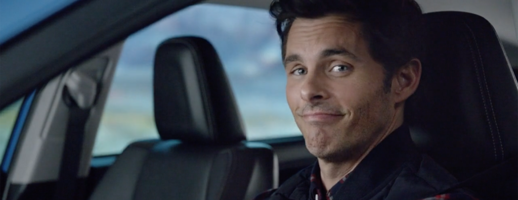 James Marsden for Toyota powered by Cloneless